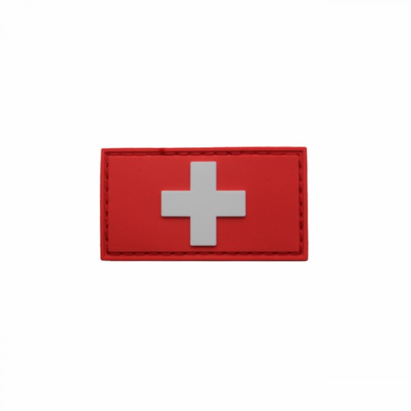 Pitchfork Swiss Flag Patch - Color