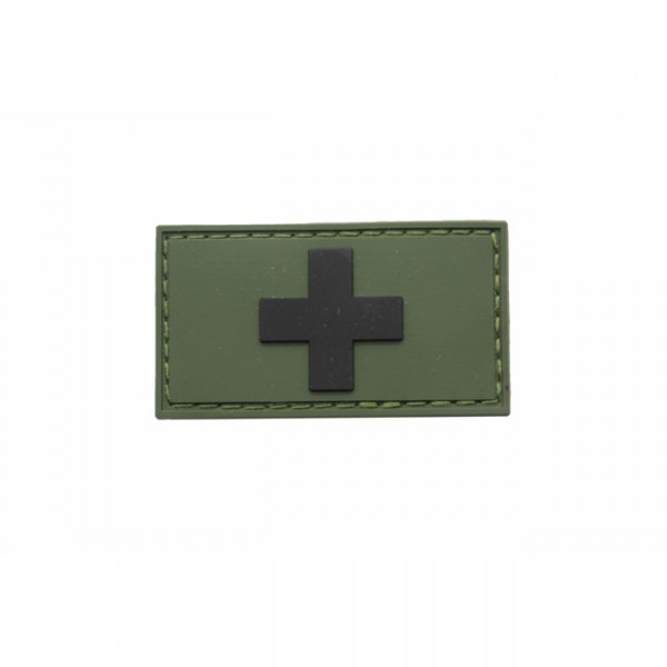 Pitchfork Swiss Flag Patch - Olive