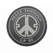 Pitchfork Peace Through GP90 Patch - Swat