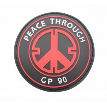 Pitchfork Peace Through GP90 Patch - Medic