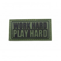 Pitchfork Work Hard Patch - Olive