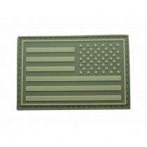 Pitchfork US Right IFF Flag Patch - Olive