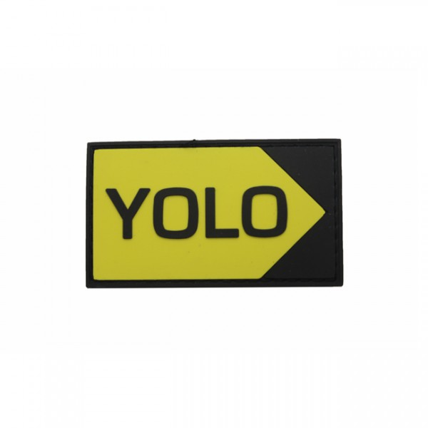 Pitchfork Jalon YOLO Patch - Color