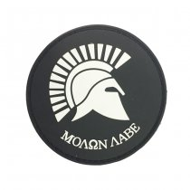 Pitchfork Molon Labe Patch - Black