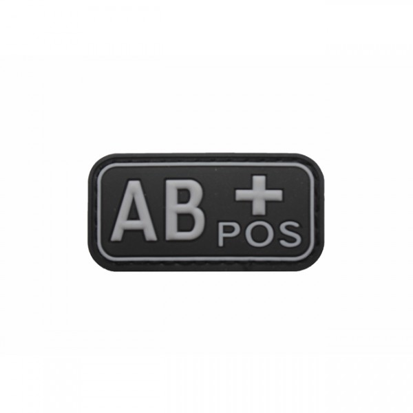 Pitchfork Blood Type AB POS Patch - Swat