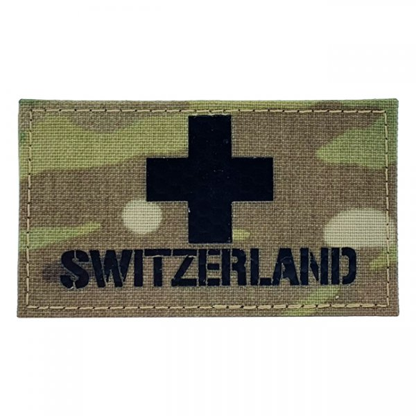 Pitchfork Switzerland IR Patch - Multicam