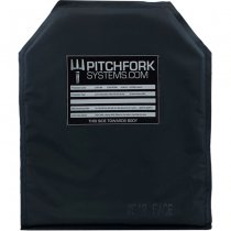 Pitchfork NIJ Level IIIA & Level II STAB 10x12 Inch Standard Cut Soft Armour Plate