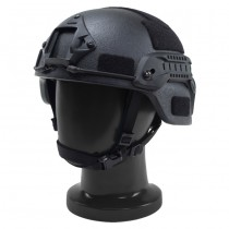Pitchfork MICH Level IIIA ARC Tactical Helmet - Black