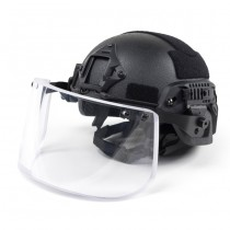 Pitchfork MICH Level IIIA ARC Tactical Helmet - Black 5