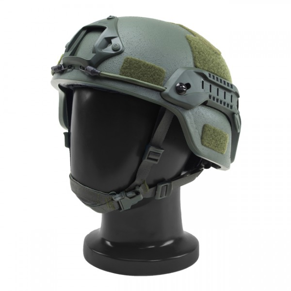 Pitchfork MICH Level IIIA ARC Tactical Helmet - Olive