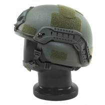 Pitchfork MICH Level IIIA ARC Tactical Helmet - Olive 2