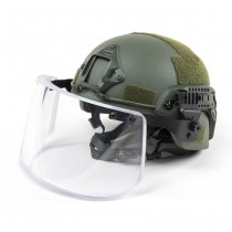 Pitchfork MICH Level IIIA ARC Tactical Helmet - Olive 5