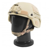 Pitchfork MICH Level IIIA ARC Tactical Helmet - Dark Earth