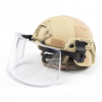 Pitchfork MICH Level IIIA ARC Tactical Helmet - Dark Earth 5