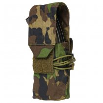 Pitchfork Closed Double AK Magazine Pouch - SwissCamo