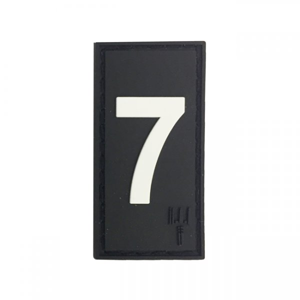 Pitchfork Number 7 Patch - Black
