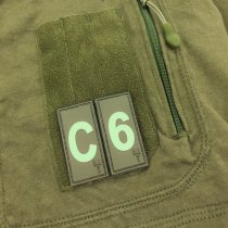 Pitchfork Number 4 Patch - Olive