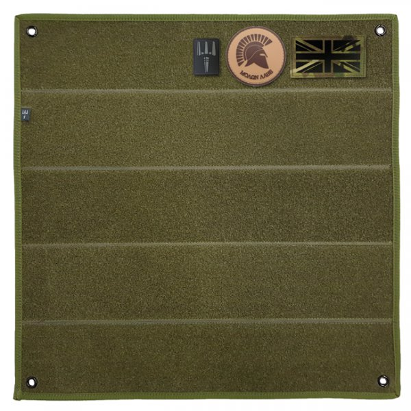 Pitchfork Velcro Patch Panel - Olive
