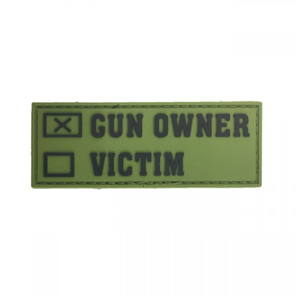 Pitchfork Gun Owner Patch - Green