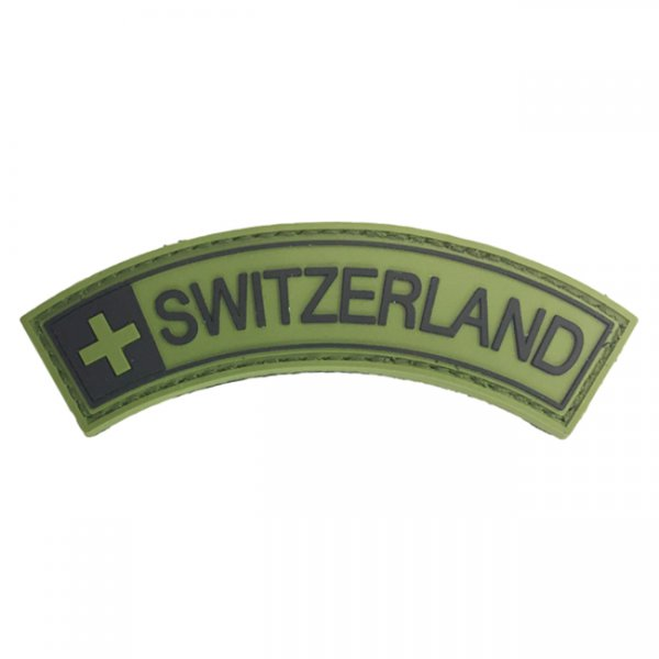Pitchfork Switzerland Tab Patch - Green