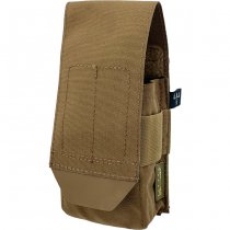 Pitchfork Closed Single AR15 Magazine Pouch - Coyote