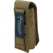 Pitchfork Closed Tool & Flashlight Pouch - Coyote