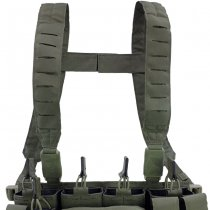 Pitchfork MCR Modular Chest Rig Complete Set - Ranger Green