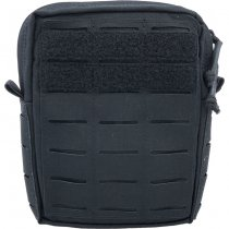 Pitchfork Vertical Utility Pouch Small - Black