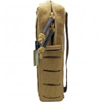 Pitchfork Vertical Utility Pouch Small - Coyote