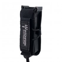 Pitchfork FLEX Single Pistol Magazine Pouch - Black