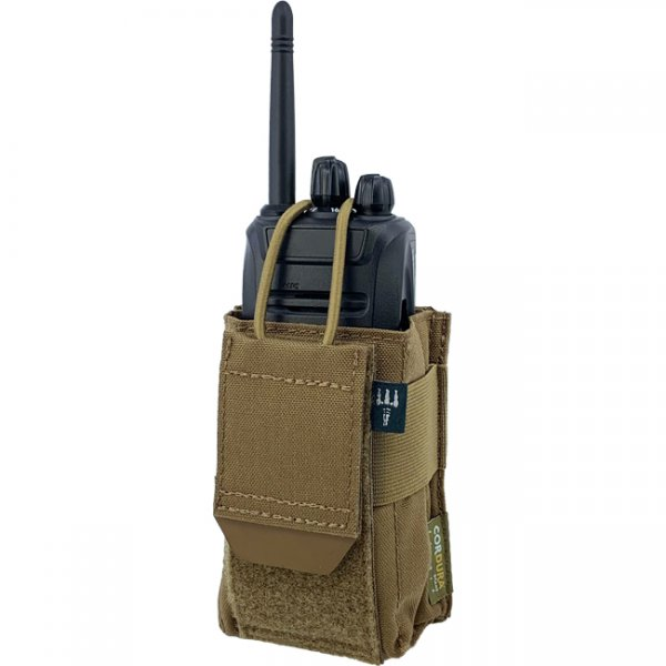Pitchfork Universal Padded Radio Pouch - Coyote