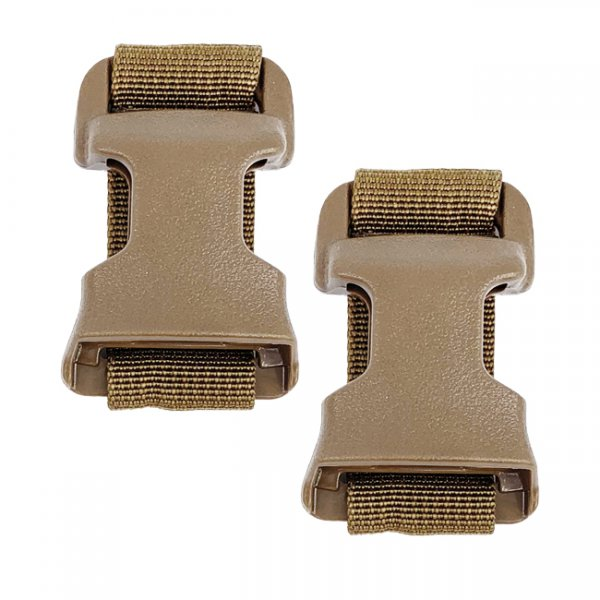 Pitchfork QASM Plate Carrier & Chest Rig Adapter Set - Coyote