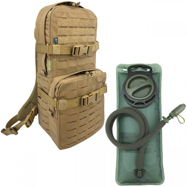 Pitchfork Medium Cargo & Hydration Pack 2.5L Combo - Coyote