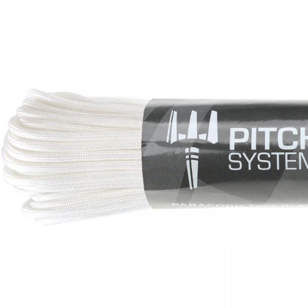 Pitchfork Paracord Type III 550 30m - White