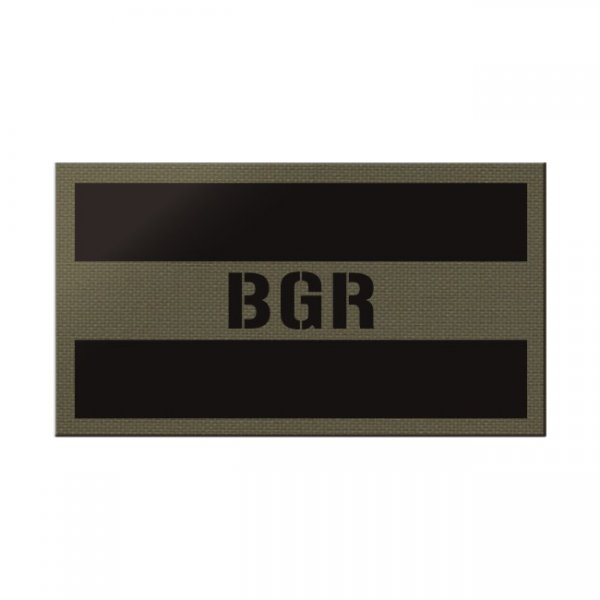Pitchfork Bulgaria IR Print Patch - Ranger Green