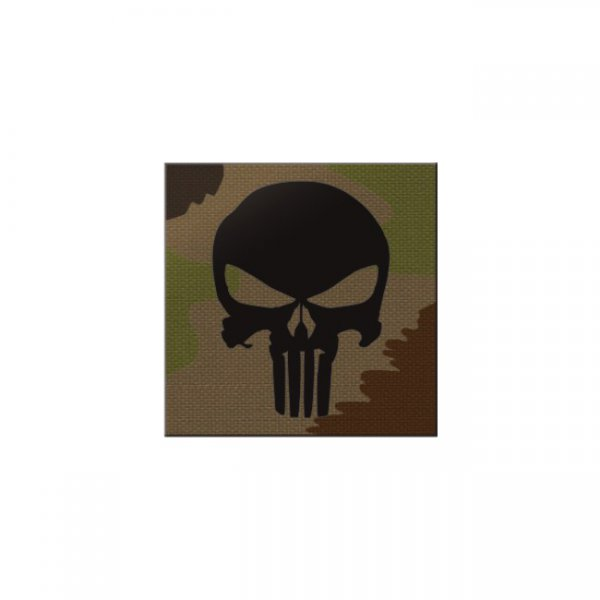 Pitchfork Punisher IR Square Print Patch - SwissCamo