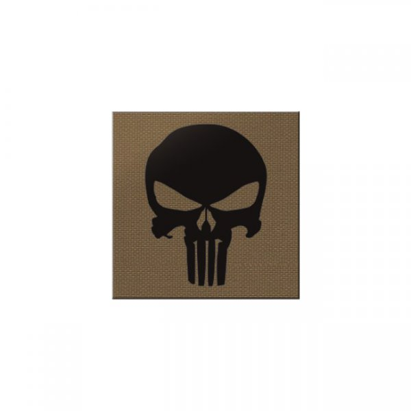 Pitchfork Punisher IR Square Print Patch - Coyote