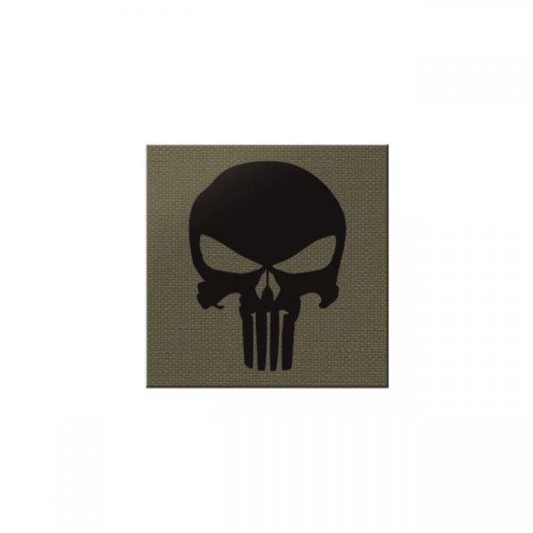 Pitchfork Punisher IR Square Print Patch - Ranger Green