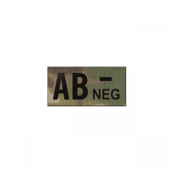 Pitchfork AB NEG Blood Type IR Patch - Multicam