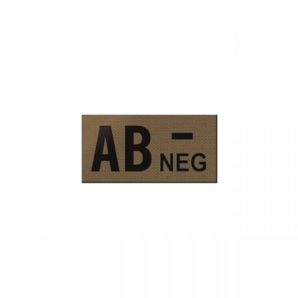 Pitchfork AB NEG Blood Type IR Patch - Coyote