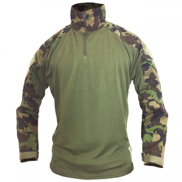 Pitchfork Under Armor Combat Shirt - SwissCamo - 2XL - Regular