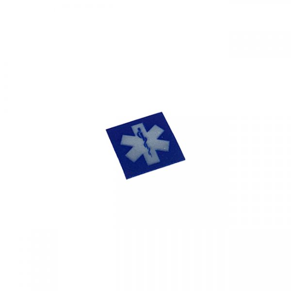 Pitchfork MEDIC Reflective Face Shield Sticker - Blue