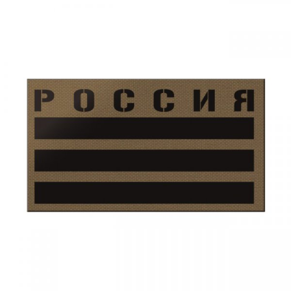 Pitchfork Russia IR Print Patch - Coyote